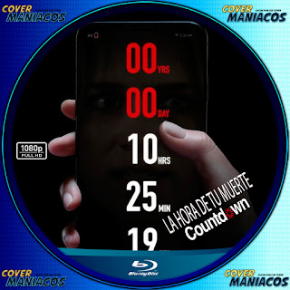 GALLETA LA HORA DE TU MUERTE-COUNTDOWN 2019[COVER BLU-RAY]