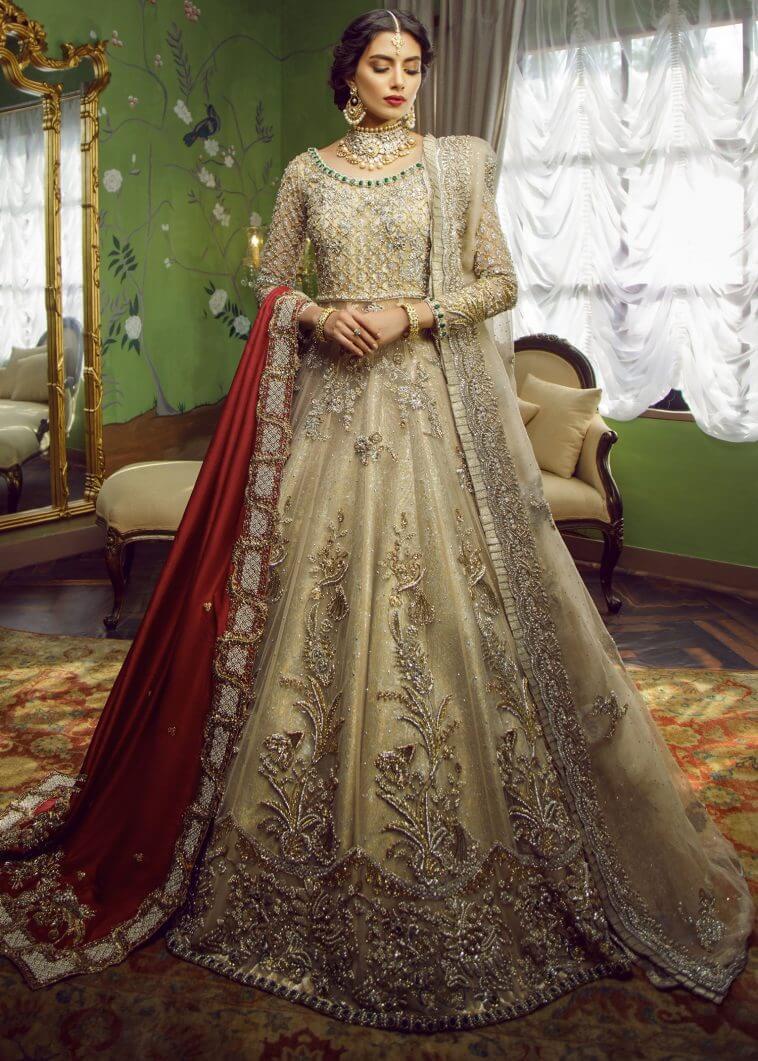 Sadaf Fawad Khan Wedding Dresses for Barat, Mehndi and Walima