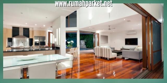 cara membuat rumah yang sehat - menggunakan lantai kayu parket