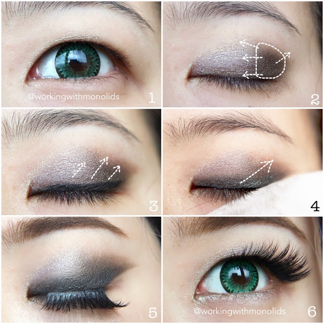 Tutorial Fan Style Eyeshadow For Monolid Eye Makeup Eye Makeup