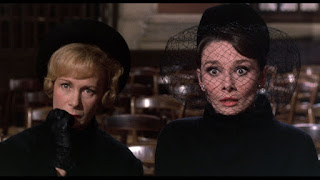 Charade - Audrey Hepburn and woman