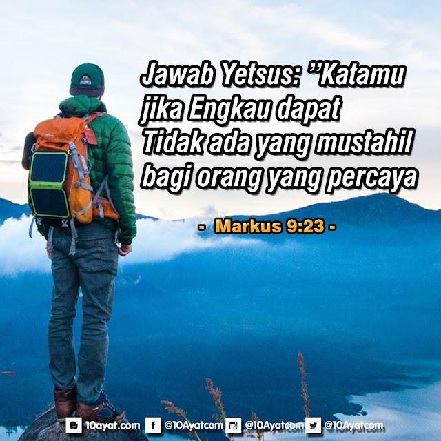Markus 9:23