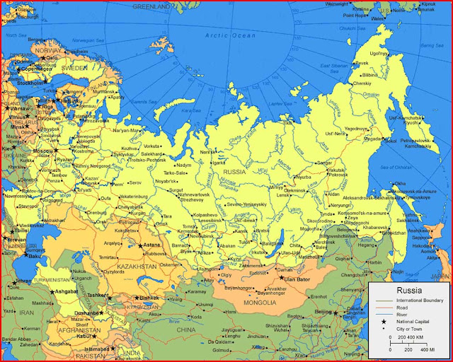 image: Russia Map HD