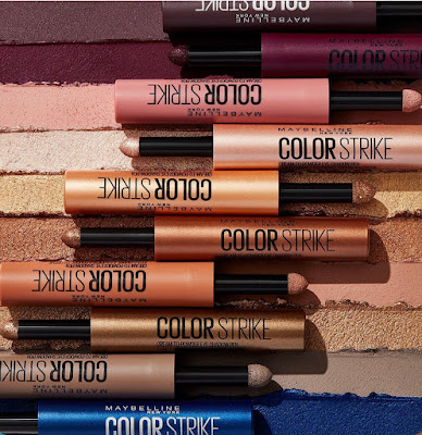 Maybelline  Cienie Do Powiek Color Strike
