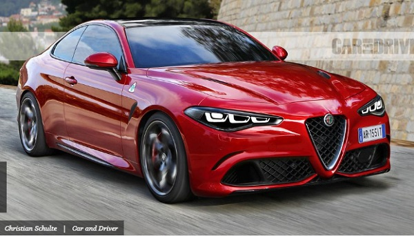 Mobil Alfa Romeo GTV - Tahun 2021   sumber caranddriver