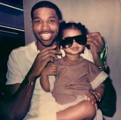 Khloe Kardashian calls ex Tristan Thompson and daughter True twins sharing unseen adorable twinning father-daughter twining on Father's Day