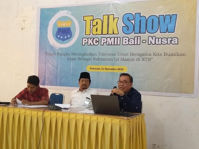 PMII Bali Nusra Gelar Talk Show Islam Rahmatan Lil Alamin.