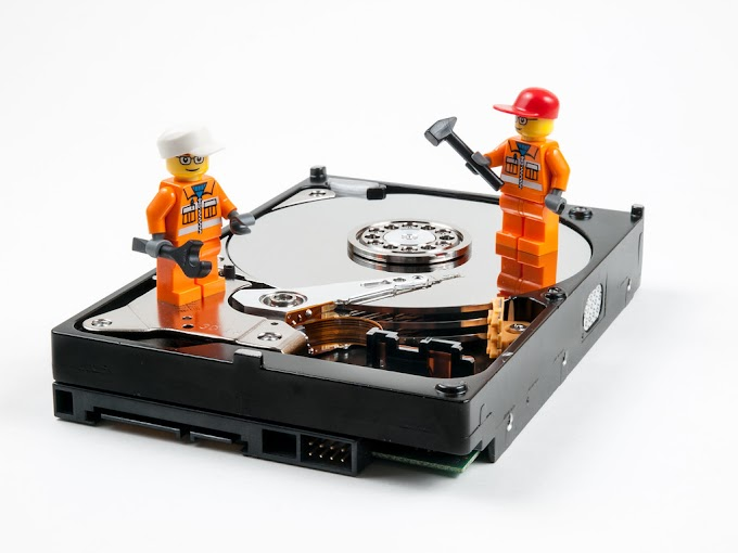 How to fix a broken hard drive ?