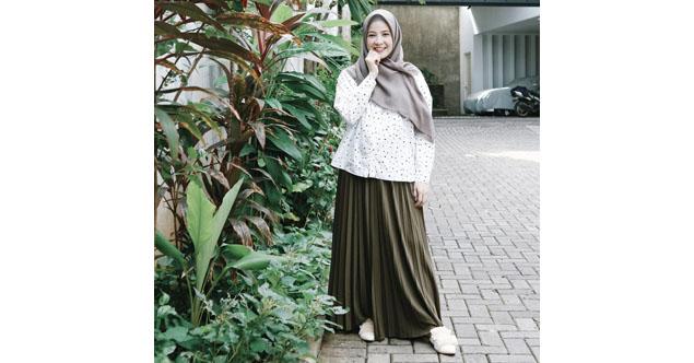 12 Tips Memilih Model Baju Muslim Terbaru Untuk Wanita Gemuk