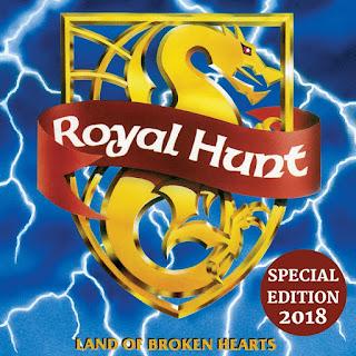 """Royal Hunt - """"Land of Broken Hearts"""" (reissue)"""