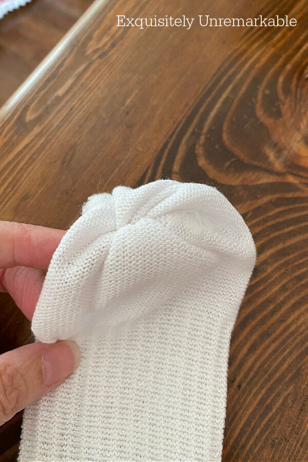 Turn Sock Inside Out