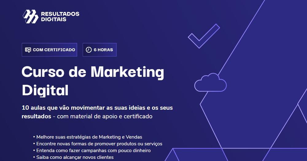 RD Station lança curso gratuito de marketing digital
