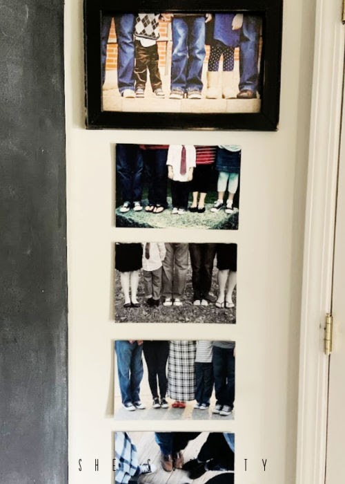 How to decorate your home with the things you love - how to display a family photos