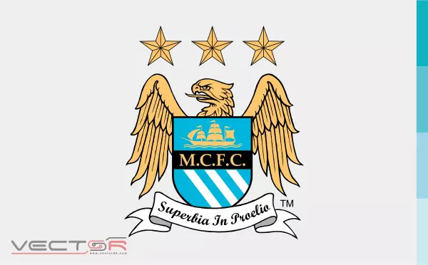 Manchester City FC (1997) Logo - Download Vector File SVG (Scalable Vector Graphics)