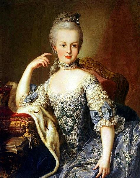 Archduchess Maria Antonia of Austria by Martin van Meytens, 1767-1768