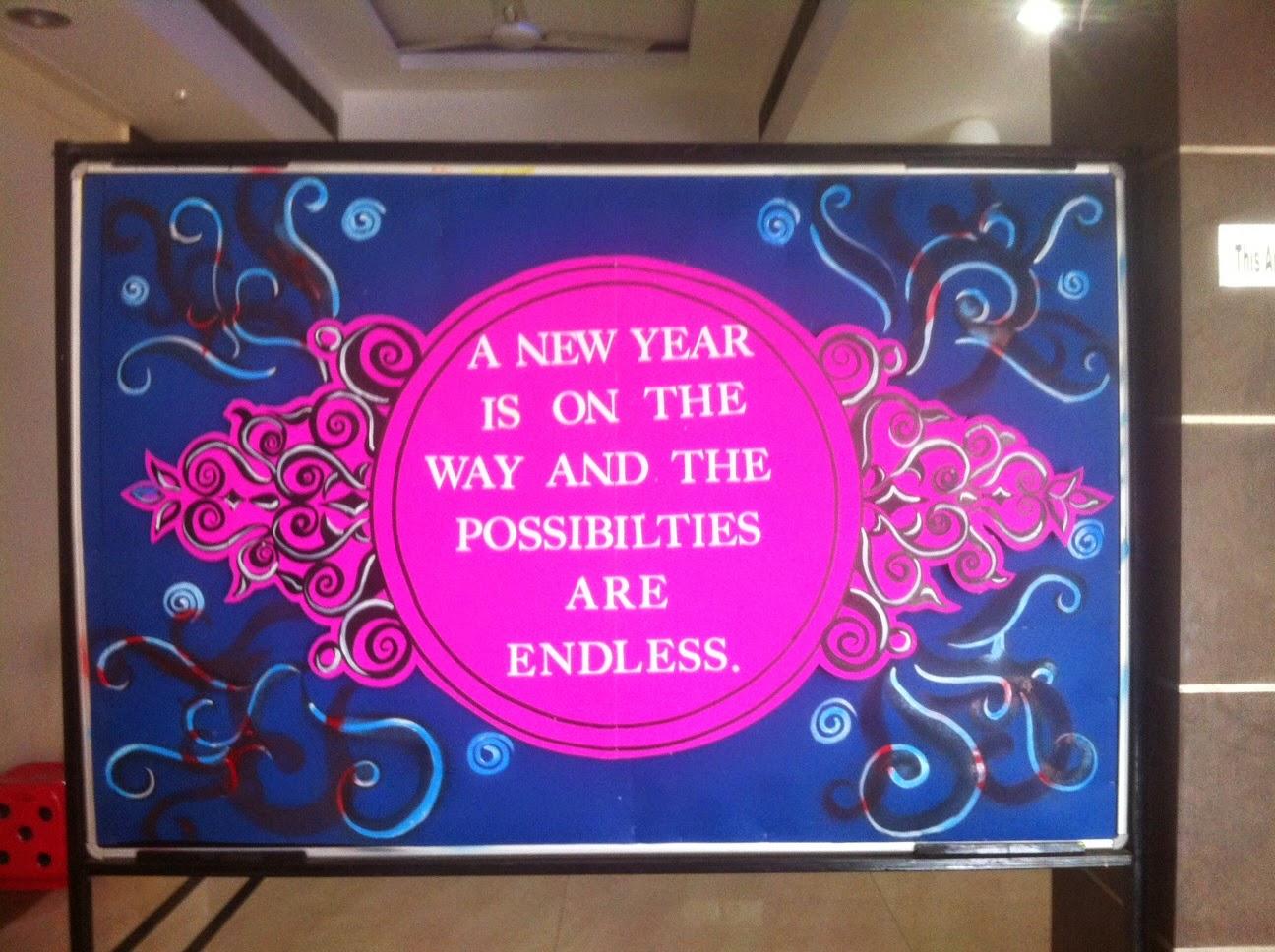 Happy New Year Bulletin Board Ideas 26