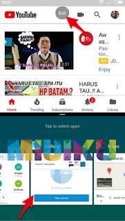 cara keluar dari mode split screen xiaomi