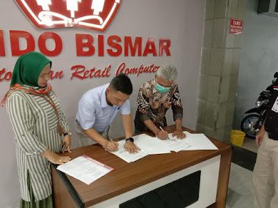 Industri Mengajar PT. INDO BISMAR JATIM Di SMK MA'ARIF NU BENJENG