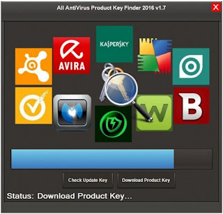 All AntiVirus Product Key Finder 2016 v1.10.0