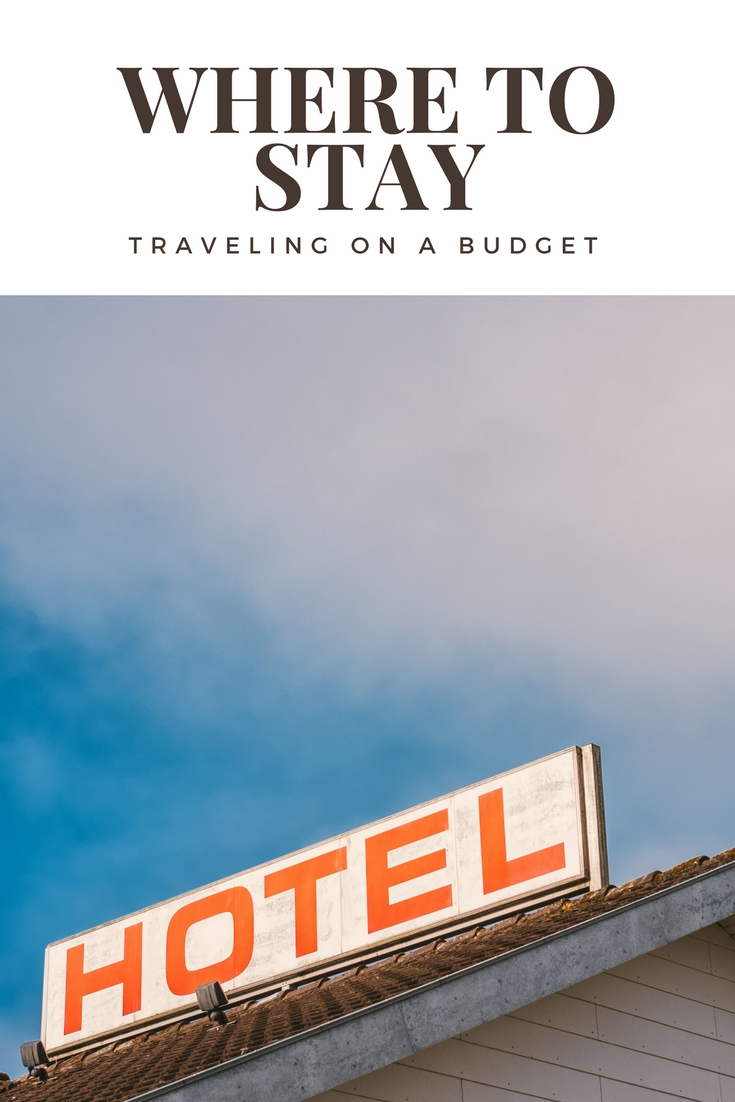 budget travel stay