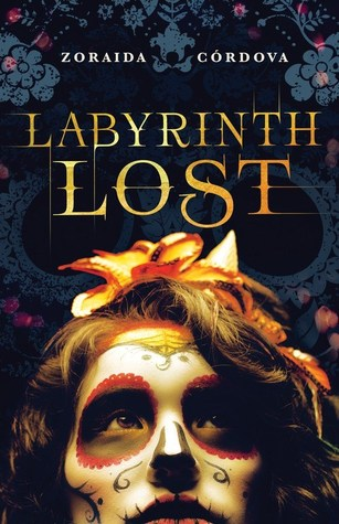 Labyrinth Lost book cover