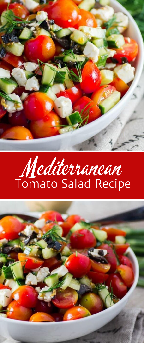 Mediterranean Tomato Salad Recipe Taste And Eat Well