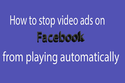 How to stop videos playing on Facebook app