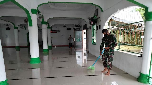 Serda Zainal : Meskipun Masjid Sudah Bersih, Jamaah Tetap Patuhi Prokes