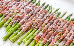 Wrapped Asparagus