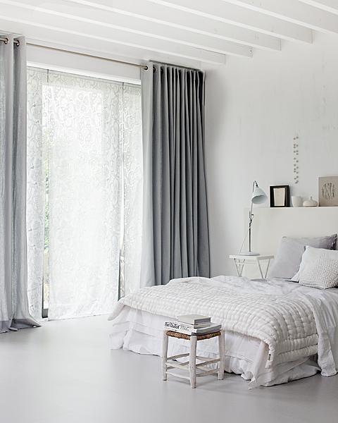 lamb  blonde Beautiful White Bedrooms