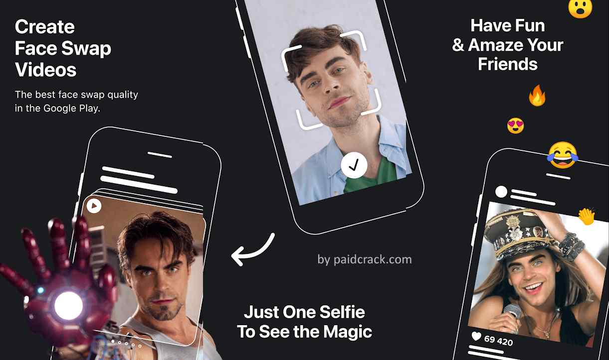 Reface Pro Mod Apk 1.6.2 swap your photo with videos & memes