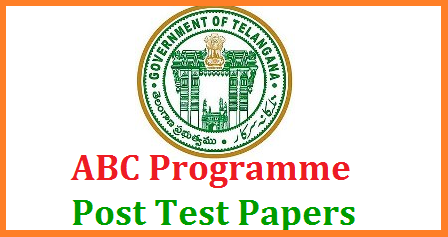 SCERT Attainment of Basic Competencies ABC Programme Post Test Question Papers Download Here. State Council for Education Research and Training SCERT Telangana has been conducting ABC Programme to enhance the Minimum standards of children in Education from Class 3rd to 8th Class in Govt Local Body KGBV Model Schools all over the Telangana State. This ABC Programme had scheduled for 45 Days earlier and Continued for 60 Days in the State. Official;s have set up target to teachers to bring class wise Learning outcomes and fullfil the Programme Attainment of Basic Competencies. Teachers have conducted Peridical Tests at Regular intervels of every 10 Days. Now its time to conduct the Post Test to finish off the ABC Programme scert-abc-post-test-endline-test-telugu-english-maths-model-question-papers-download