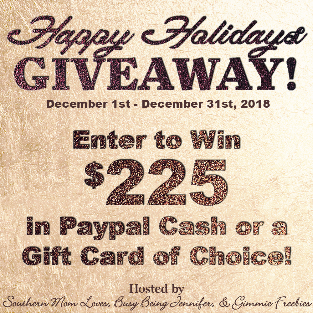 Holiday Giveaway 2018