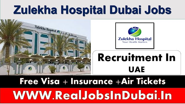 Zulekha Hospital Jobs In Dubai 2020