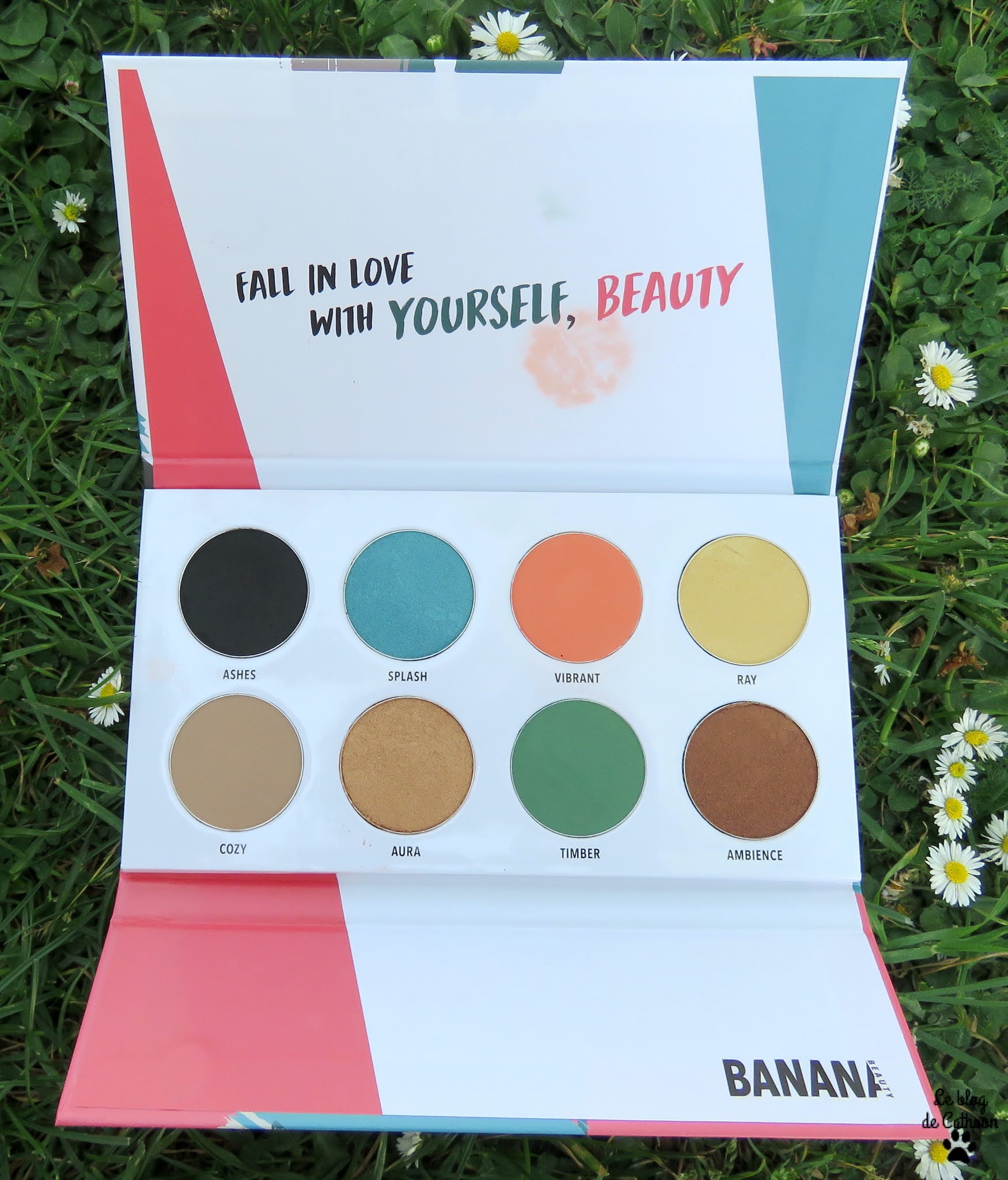 Fall In Love - Palette de Fards à Paupières - Banana Beauty