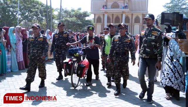 Bersepeda, Kader Ansor Ini Jelajahi 14 Negara di Afrika Bawa Misi Islam Damai dan Toleran