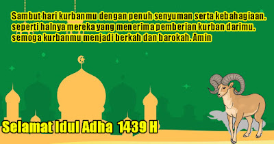 Kumpulan Ucapan Idul Adha Terbaru 2018 1439 H