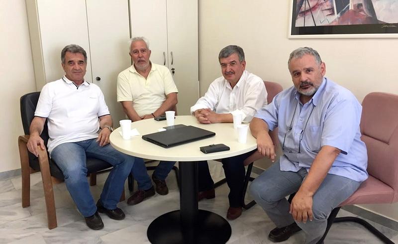 Επισκέψεις και συναντήσεις του υποψήφιου βουλευτή Έβρου Μενέλαου Μαλτέζου
