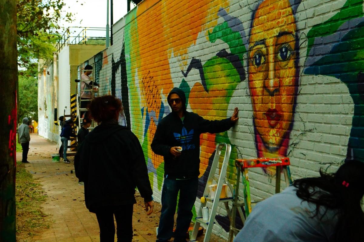 Aerosoles Anónimos: #RutaDeMurales Cuando el arte urbano se vuelve ...