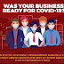 Was Your Business Ready for COVID-19? #infographic