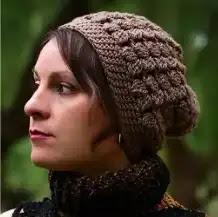Gorro Puff a Crochet