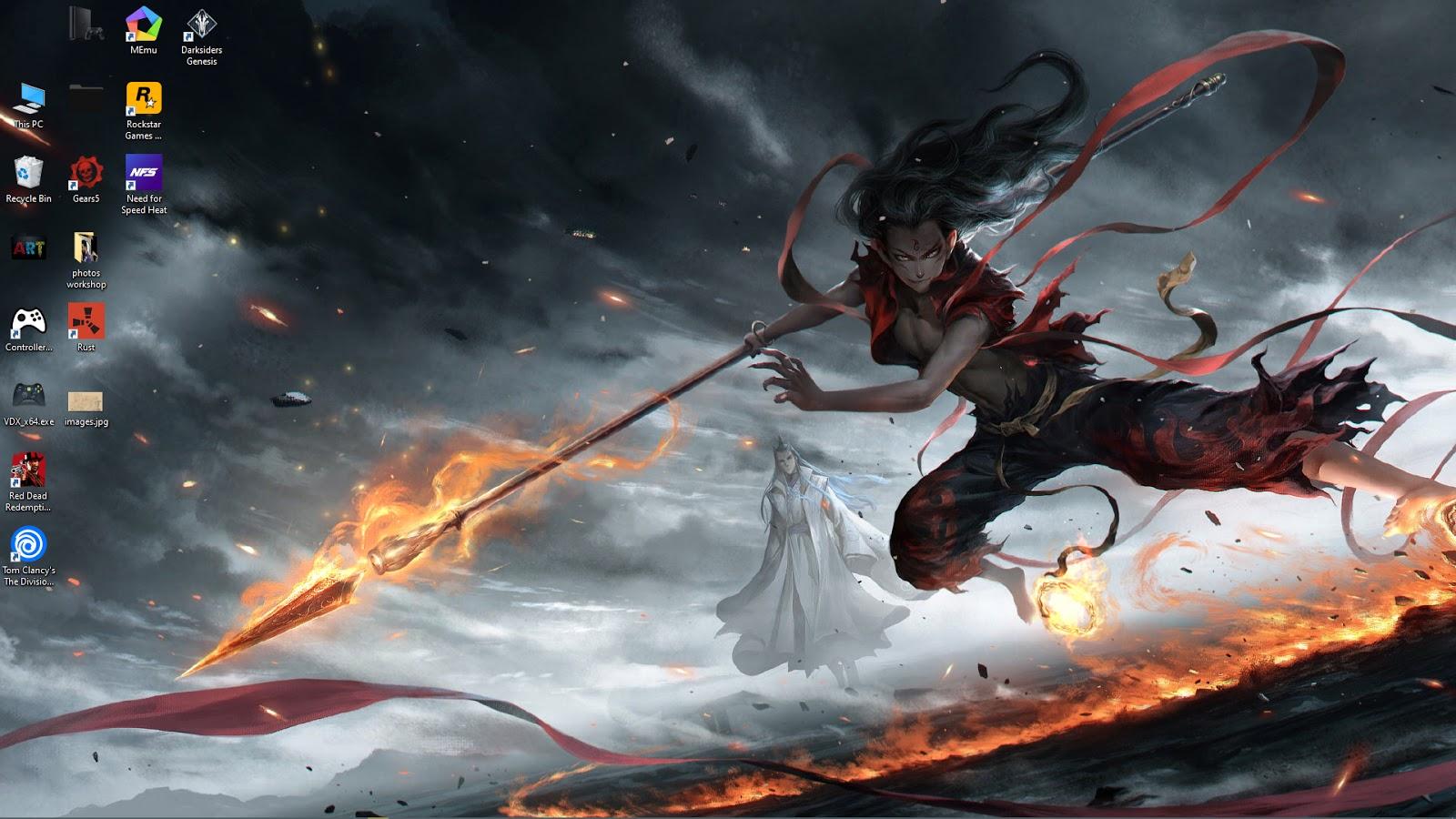 wallpaper engine anime Nezha Devil free download ...