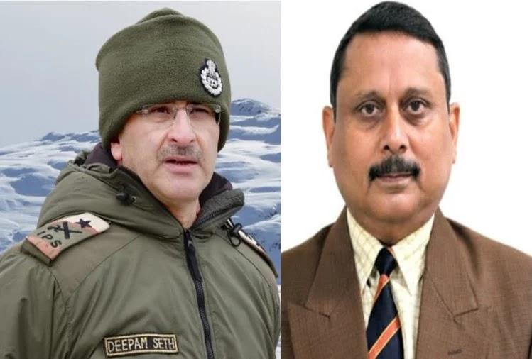 आईजी दीपम सेठ/ एसपी सीबीआई प्रसन्ना कुमार  .