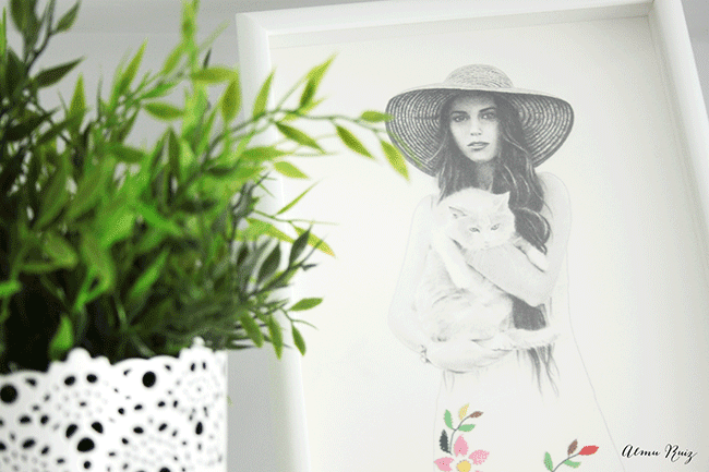 Decora tu casa con ilustraciones diariodeco for Decora tu casa virtual