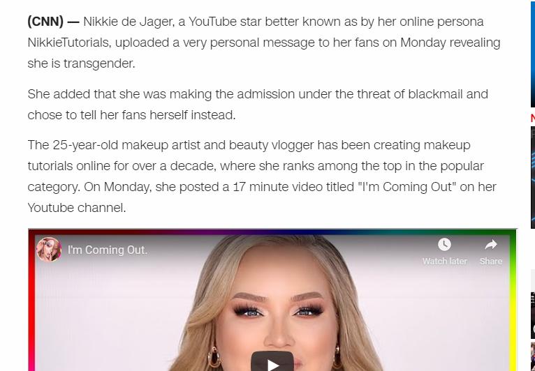 The Mindless Freaks: Popular YouTube star Nikkie de Jager ...