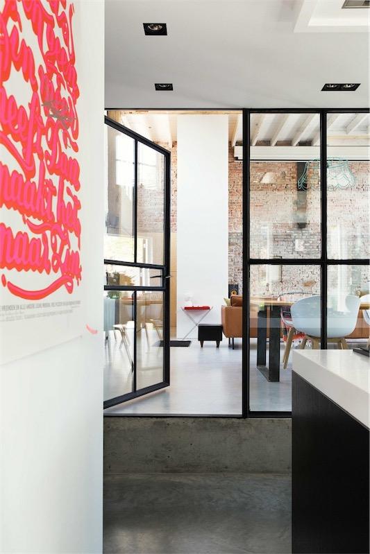 puertas inspiracion industrial de hierro y cristal chicanddeco