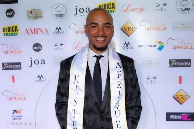 Cabo-verdiano vence Mister África 2019