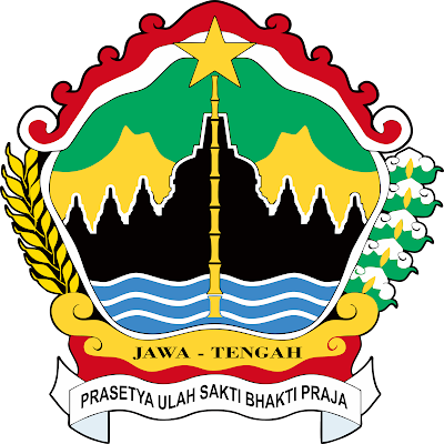 logo provinsi Jawa Tengah, logo kebanggaan masyarakat seluruh masyarakat jateng.