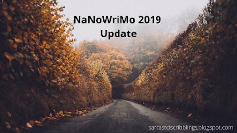 NaNoWriMo 2019 Update // I WON