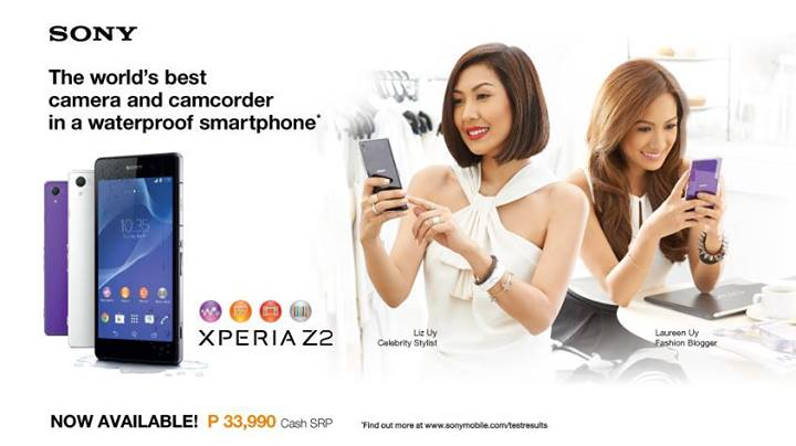 Sony Xperia Z2 Official Price and Availability in the Philippines